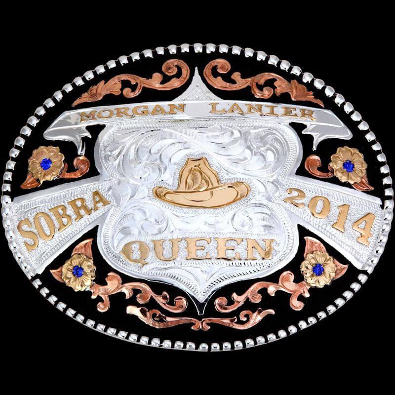 Custom Trophy Award Belt Buckles