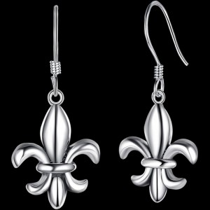 Classic Fleur-De-Lis Earrings