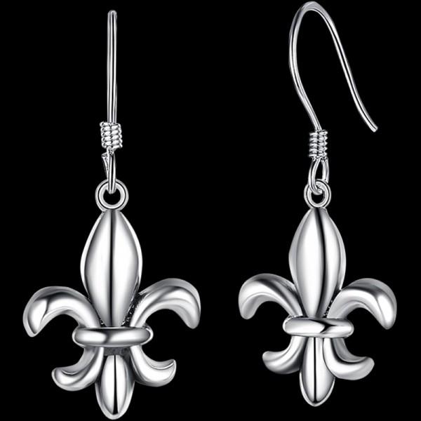 Classic Fleur-De-Lis Earrings