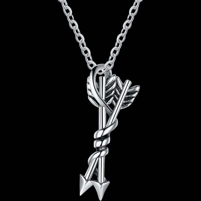 Double Wrapped Arrows Necklace
