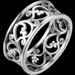 Italian Filigree Ring