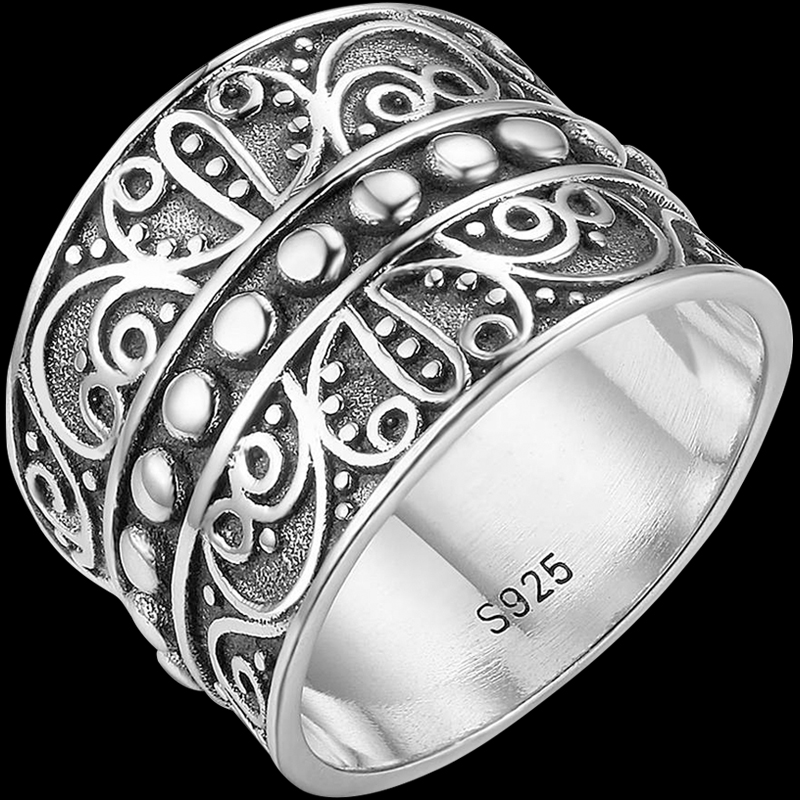 Beaded Filigree Ring