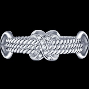 Silver Rope and Stone
