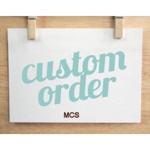 Custom Order MCS Trophy